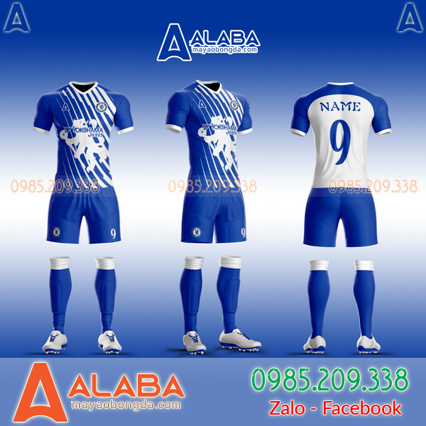Áo Chelsea tự thiết kế đẹp mã ALB CH09