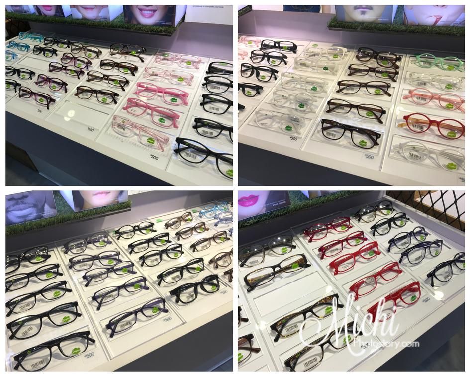 Actually, dito lang ko sa P500 namili. Hehehe! The staff just let me choose  and try different eyeglasses, wala nakabuntot sa akin. 69edd99447c0