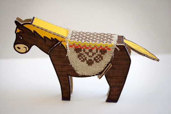 Karen Barbé's crafts, embroidery and textile design