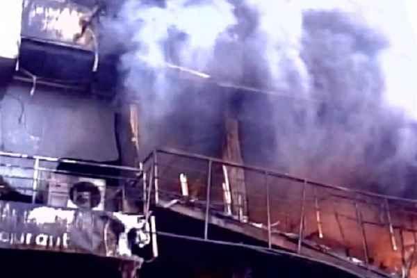 महाराष्ट्र में होटल में आग लगने से 6 लोगों की मौत