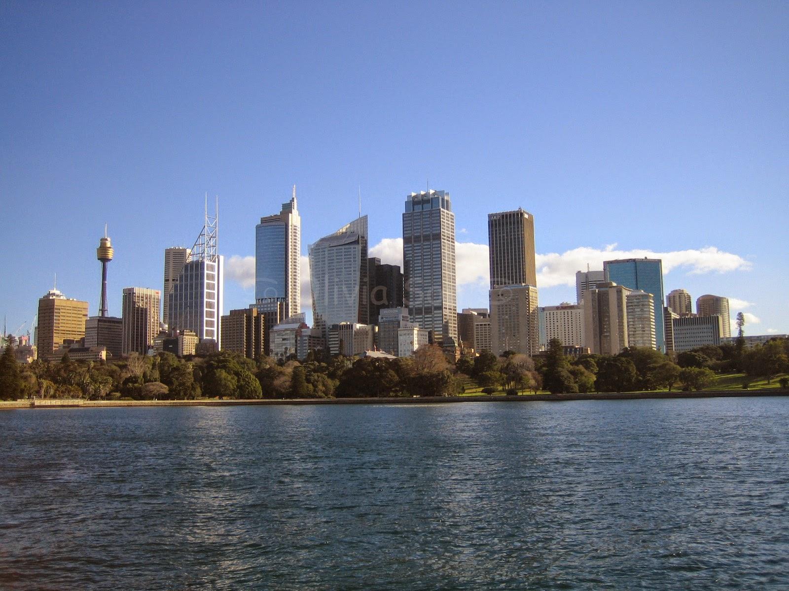 City, Royal Botanic Gardens, Sydney, Australie
