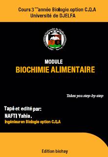 Alimentaire cours biochimie de pdf