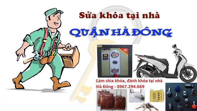 Thợ sửa khóa tại nhà quận Hà Đông Hà Nội