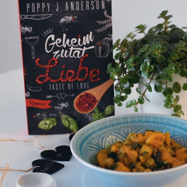 GrinseStern, Buchtipp, Taste of Love - Geheimzutat Liebe, Rezept