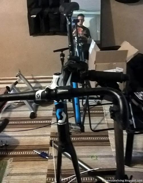 Scott Speedster S30, frame and handlebars only