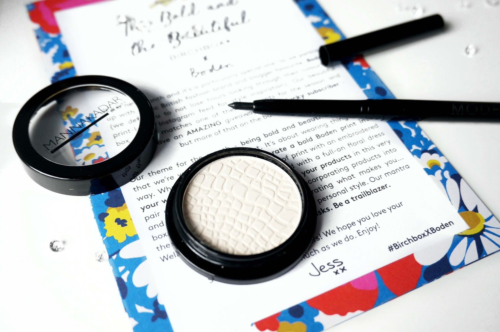 Joyce Lau The Bold And The Beautiful April Birchbox X Boden