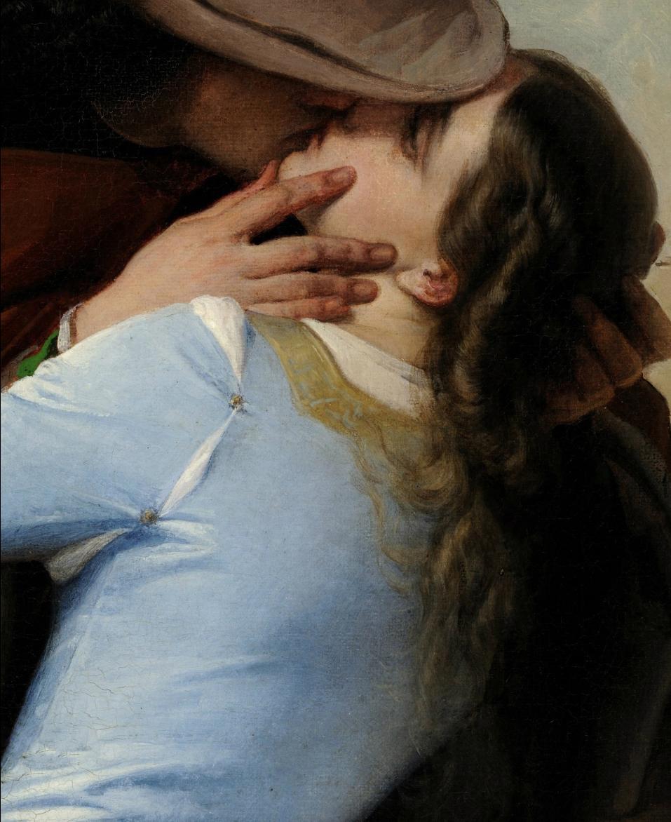 Francesco  Hayez  The  Kiss C