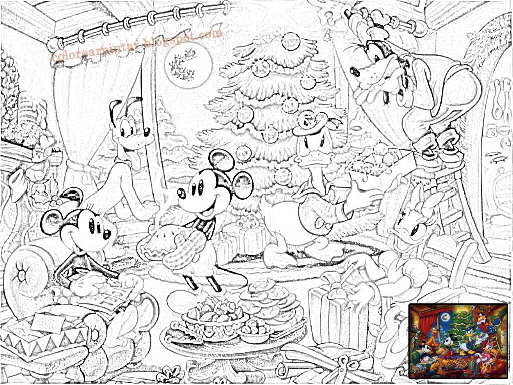 Dibujos - Fondos de escritorio - Imagenes: Disney Festeja la Navidad ...