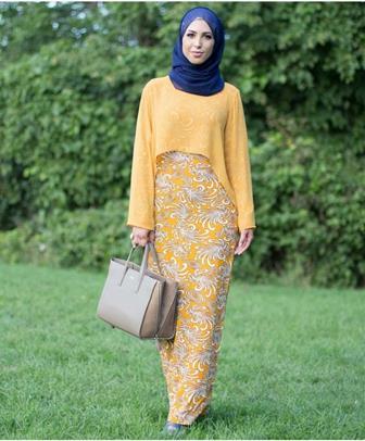 47+ Model Gamis Batik Terbaru Yang Harus Kamu Miliki