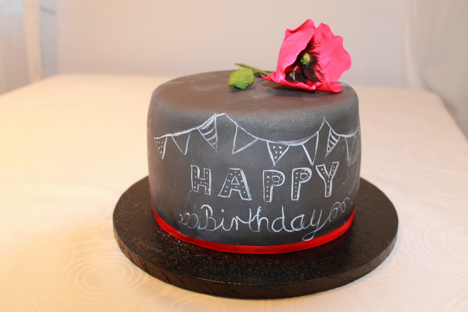 Getortet Chalkboard Cake S