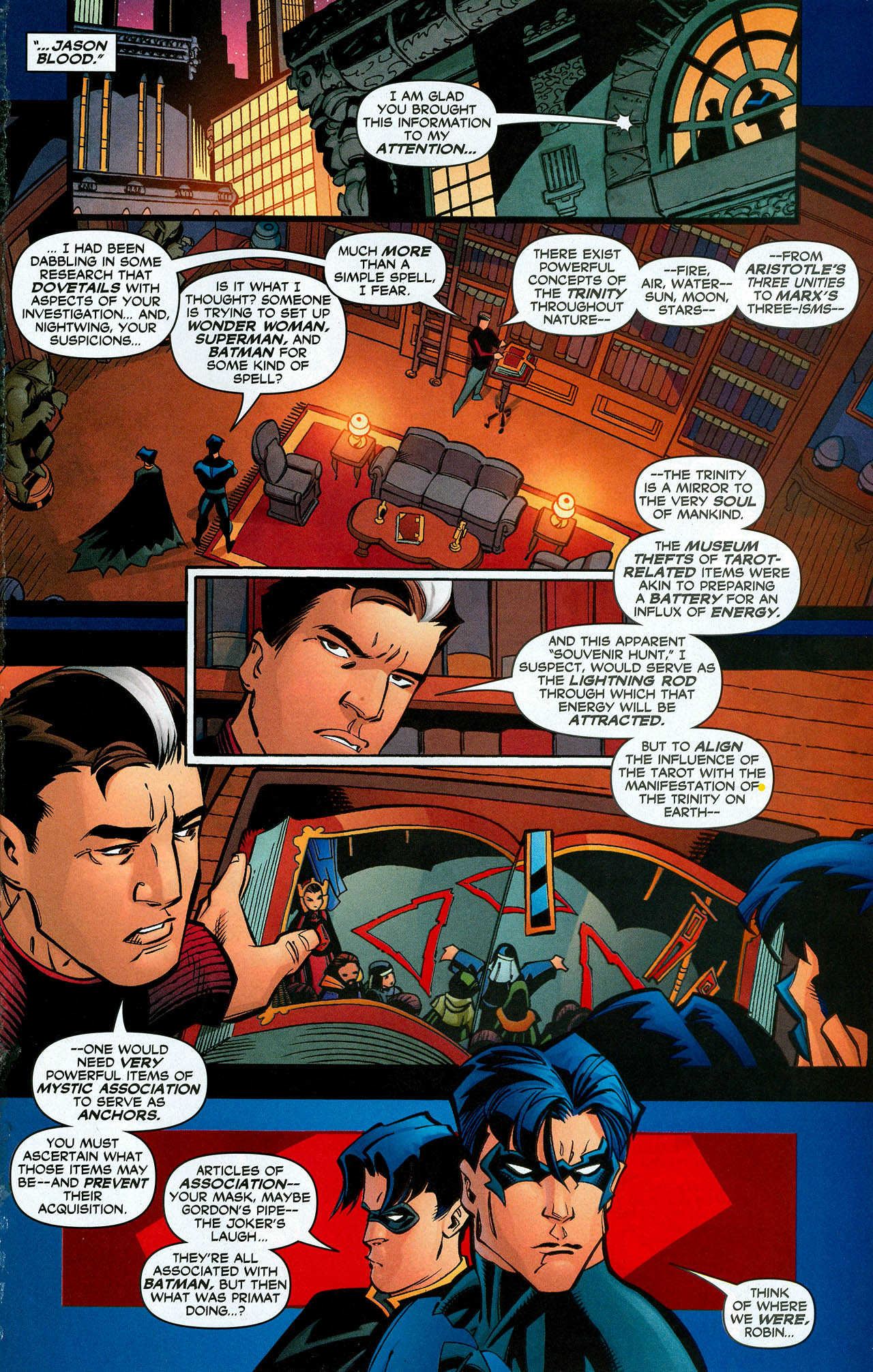 Read online Trinity (2008) comic -  Issue #10 - 27