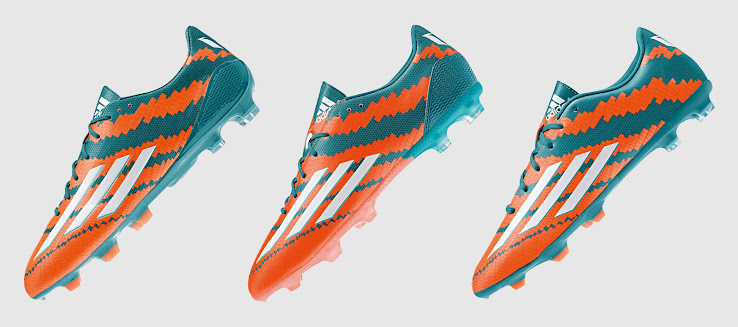 2904a79b8cb5 Adidas Messi 10.1, 10.2, 10.3, 10.4 - Breakdown of the new Adidas Messi  mirosari10 Boots - Footy Headlines