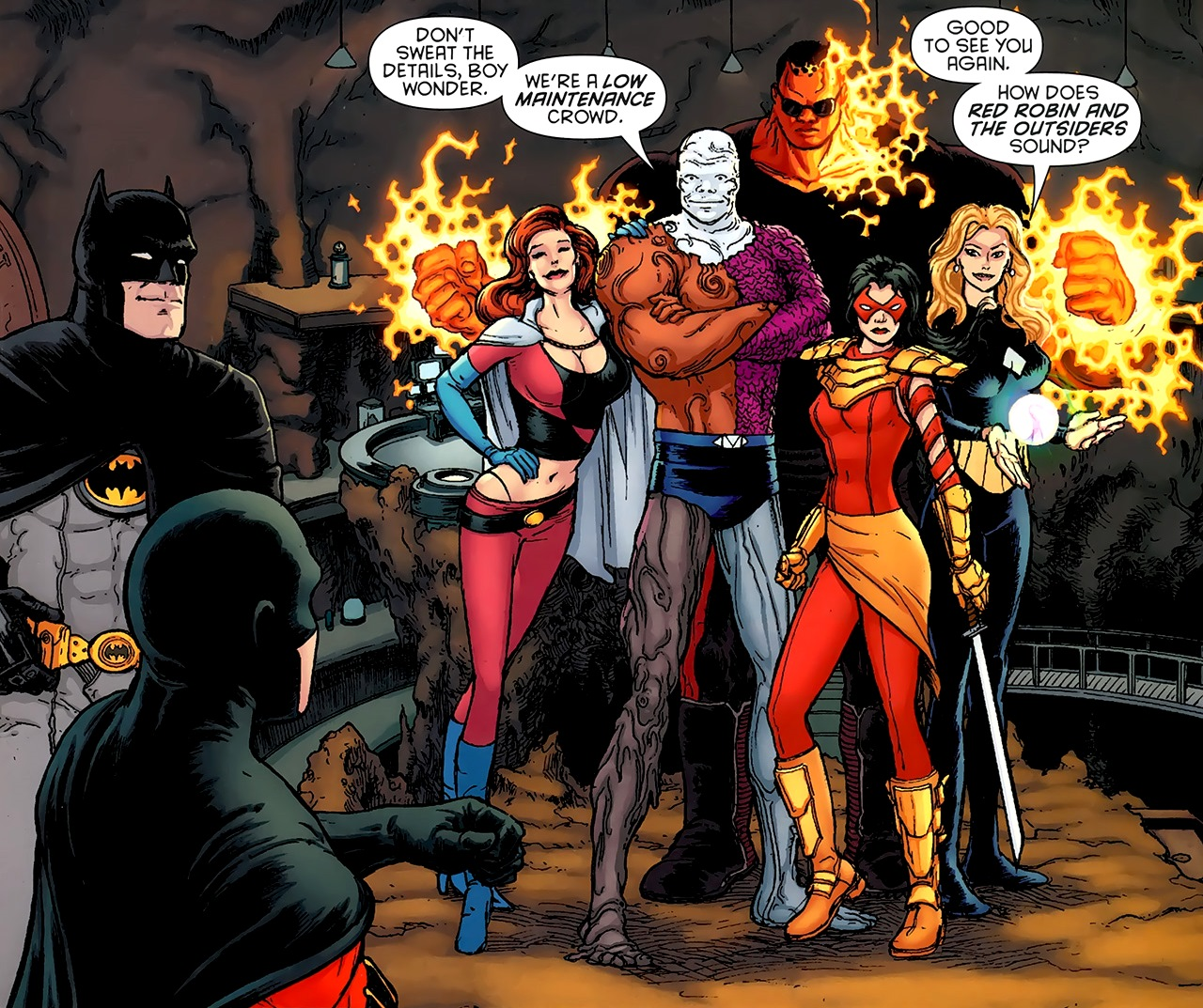 the outsiders dc comics gay
