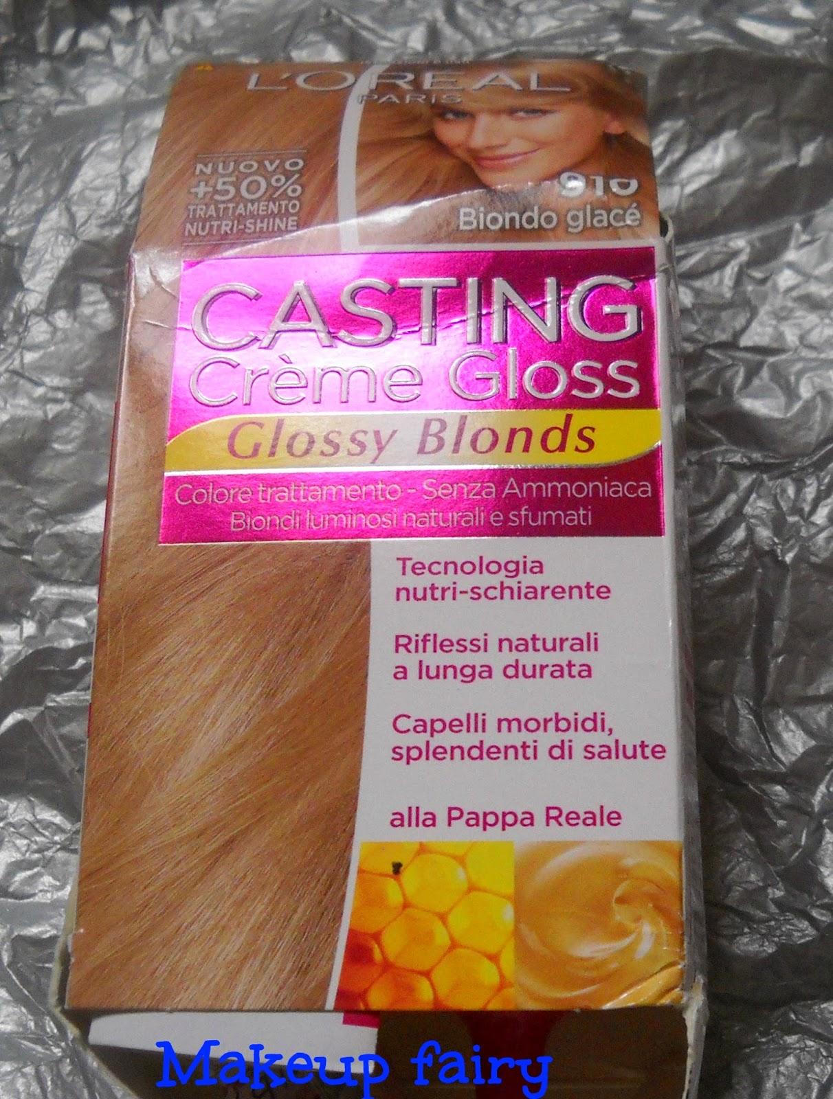 Tinklesmakeup  L oreal casting crème gloss   coloriamo insieme i ... 4b6c58f297e4