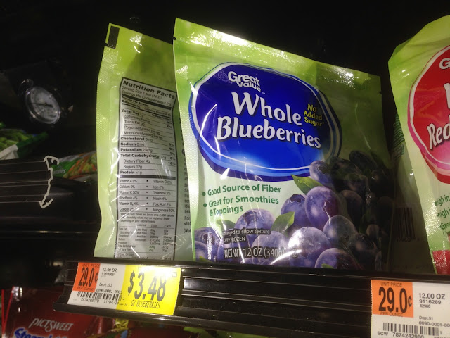 Whole Blueberries, Great Value, 12 oz - Walmart