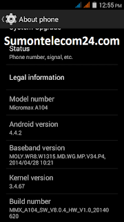 Micromax A104 images