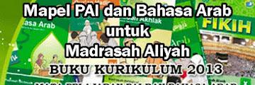 Buku Pegangan Guru dan Buku Siswa Mapel PAI dan Bahasa Arab Untuk Madrasah Aliyah (MA)