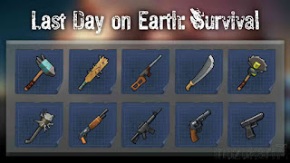 Daftar Senjata Last Day on Earth Survival
