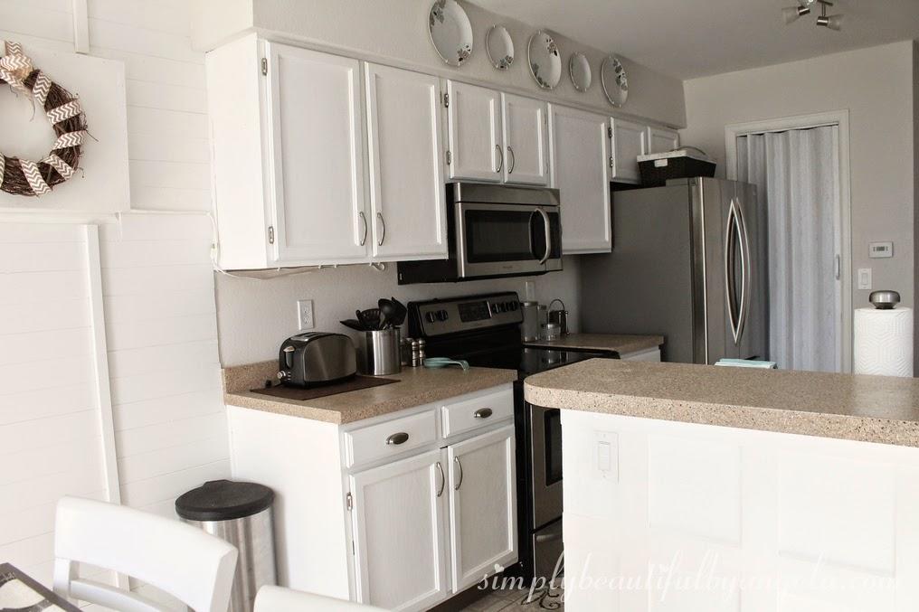 Behr Ultra Pure White Kitchen Cabinets