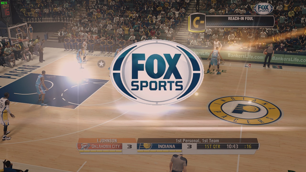 NBA 2K14 FOX Sports Wipe