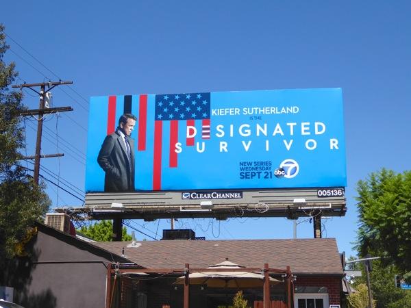 Designated Survivor season 1 billboard
