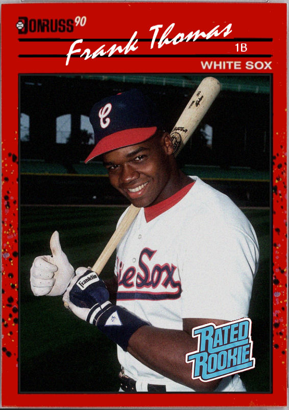 Cards That Never Were 1990 Donruss Frank Thomas