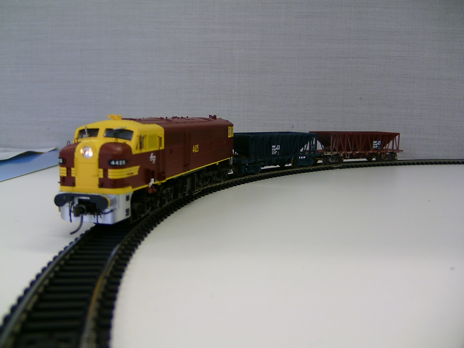 Craig's Shed: Friday was Bring a Model Train to Work Day