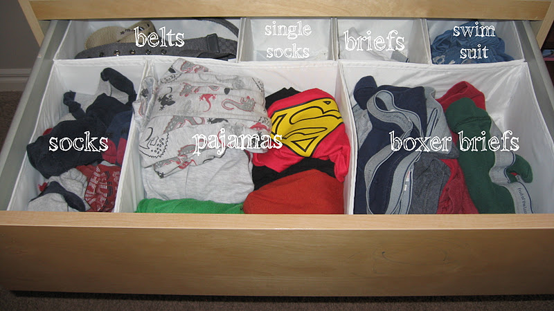 How To Organize Dresser Drawers Men
