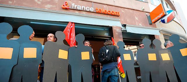 Entre 2008 y 2010 se produjeron 60 suicidios en France Telecom, ahora Orange Francia.