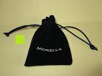 Beutel: Morella® Damen Halskette Edelstahl 70 cm mit Herz-Kugel Anhänger und Klangkugel Ø 16 mm in Schmuckbeutel zur Farbauswahl