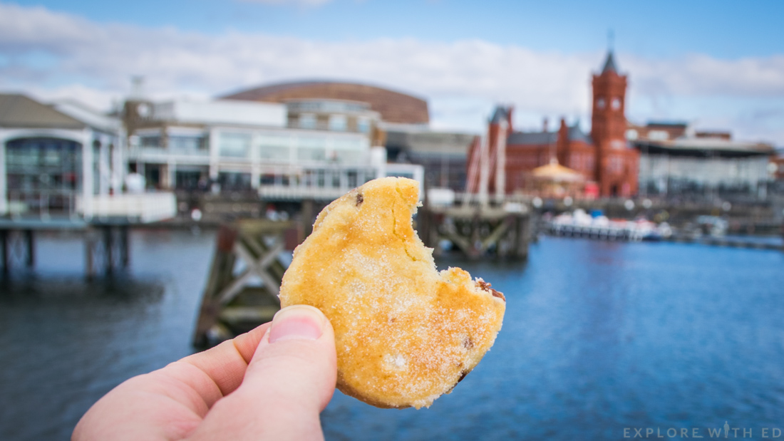 Welsh cake, Cardiff Bay