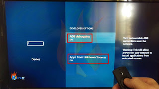 STEP 4: Enable ADB Debugging and Apps From Unknown Sources