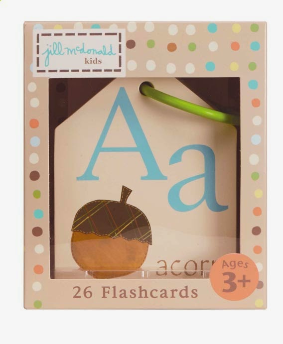 Show and Tell: Natures Alphabet Flashcards