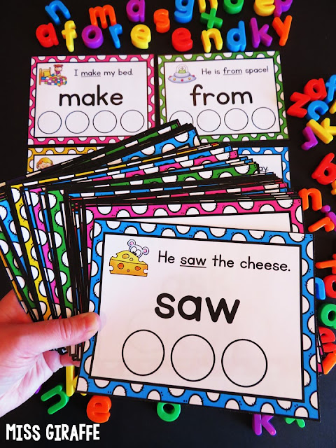 Sight words printables with easy sight word sentences with pictures to make learning and spelling high frequency words a lot of fun!