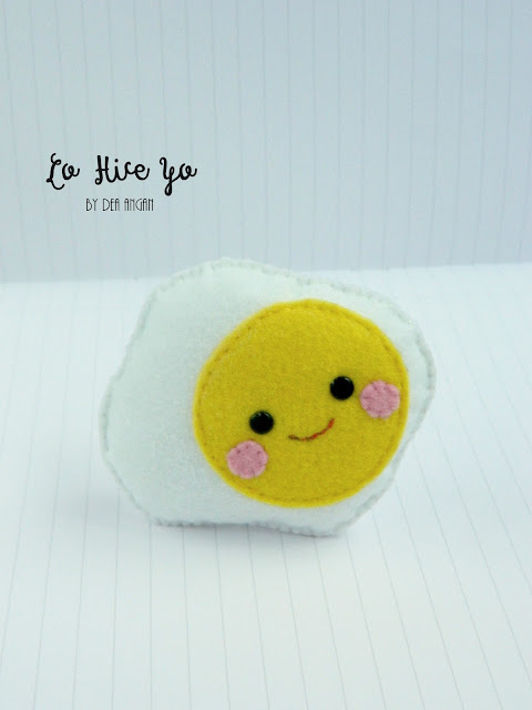 Kawaii Felt Food