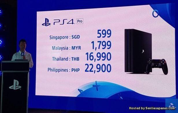Harga PlayStation 4 Pro Di Malaysia