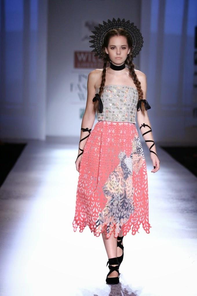 Wills Lifestyle India Fashion Week SS'15, Day 1, MSA-1 ...