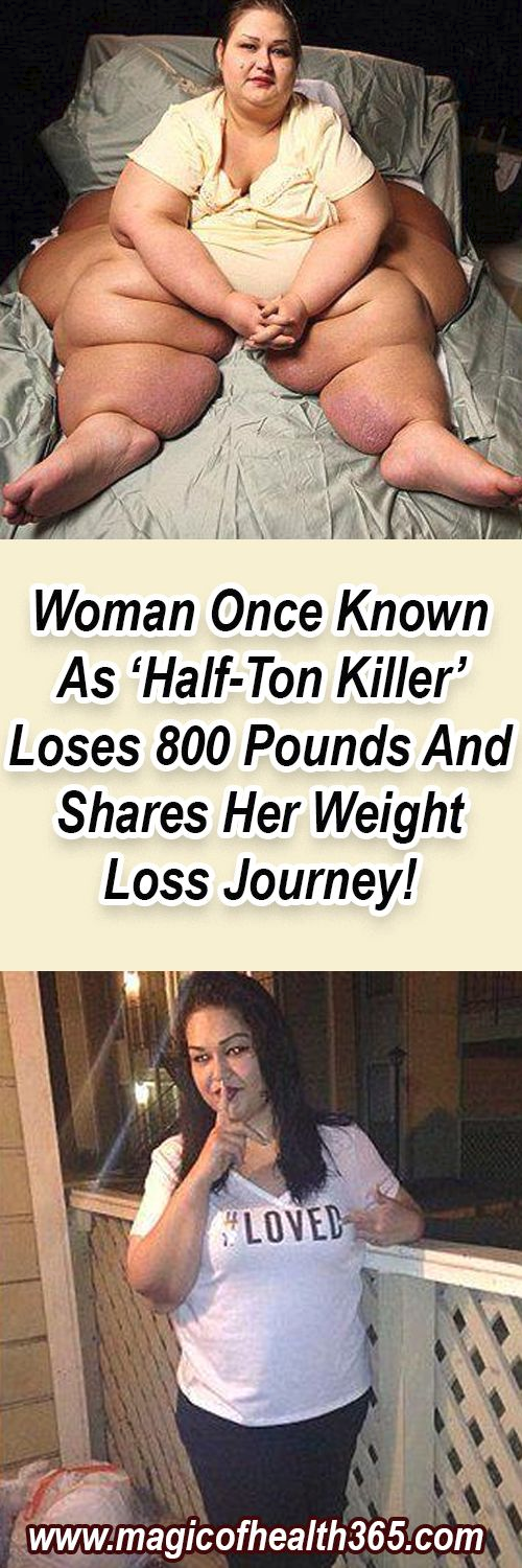 WOMAN ONCE KNOWN AS 'HALF-TON KILLER' LOSES 800 POUNDS AND SHARES HER WEIGHT LOSS JOURNEY!