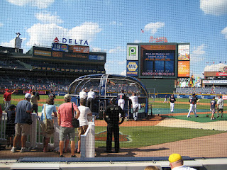 Home to center, Turner Field