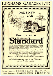 Loxhams Garages Ltd.1925 advert