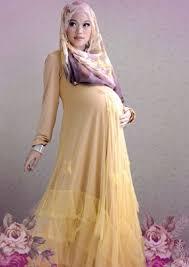 50 Model Baju Gamis Untuk Ibu Hamil Terbaru Murah Dan Trendy 2018