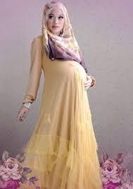 Model Baju Gamis Untuk Ibu Hamil Terbaru Murah Dan Trendy