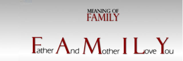 Family Meaning Facebook cover
