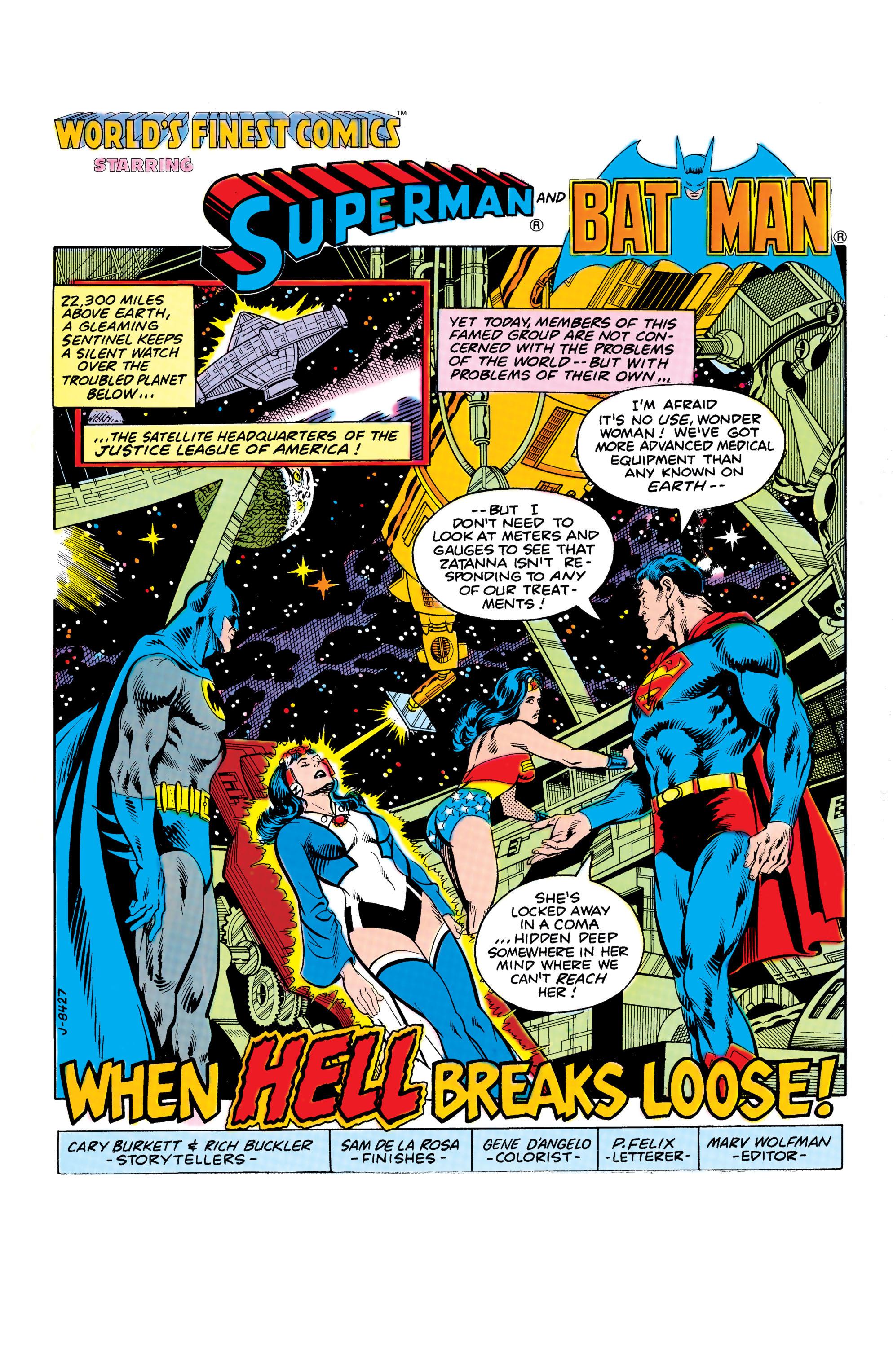 Read online World's Finest Comics comic -  Issue #286 - 2