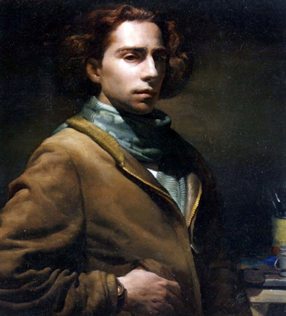 Christopher  Pugliese, Self Portrait, International Art Gallery