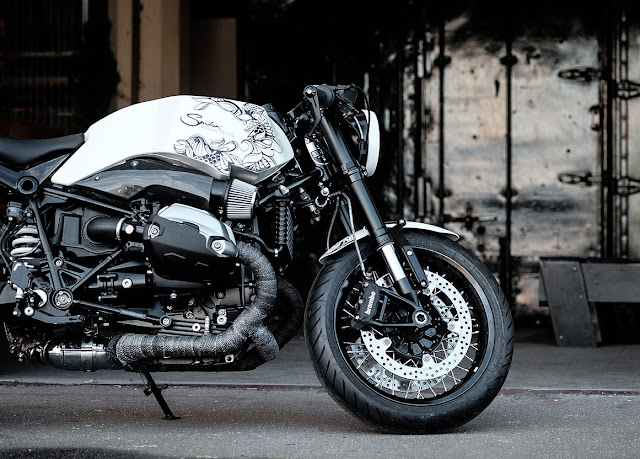 BMW R Nine T By Smokin' Motorcycles Hell Kustom