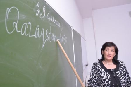 Назарбаев заявил о переводе алфавита в Казахстане с кириллицы на латиницу