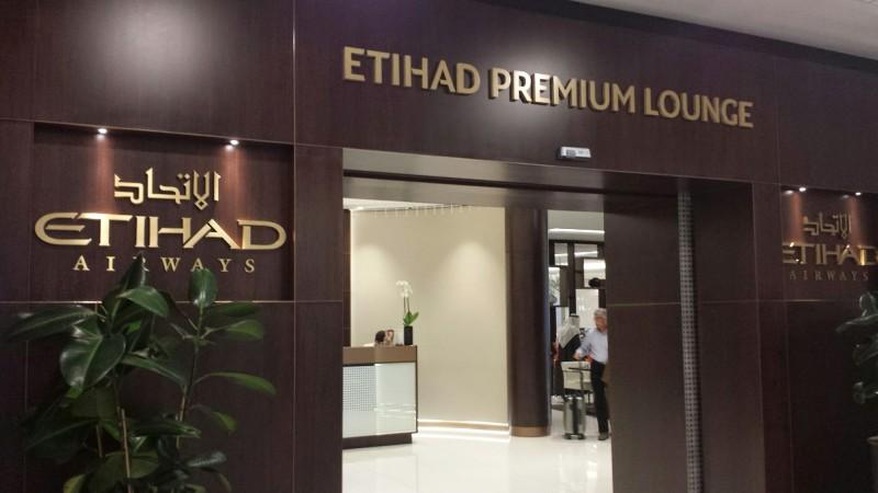Etihad Premium Lounge, Abd Dhabi