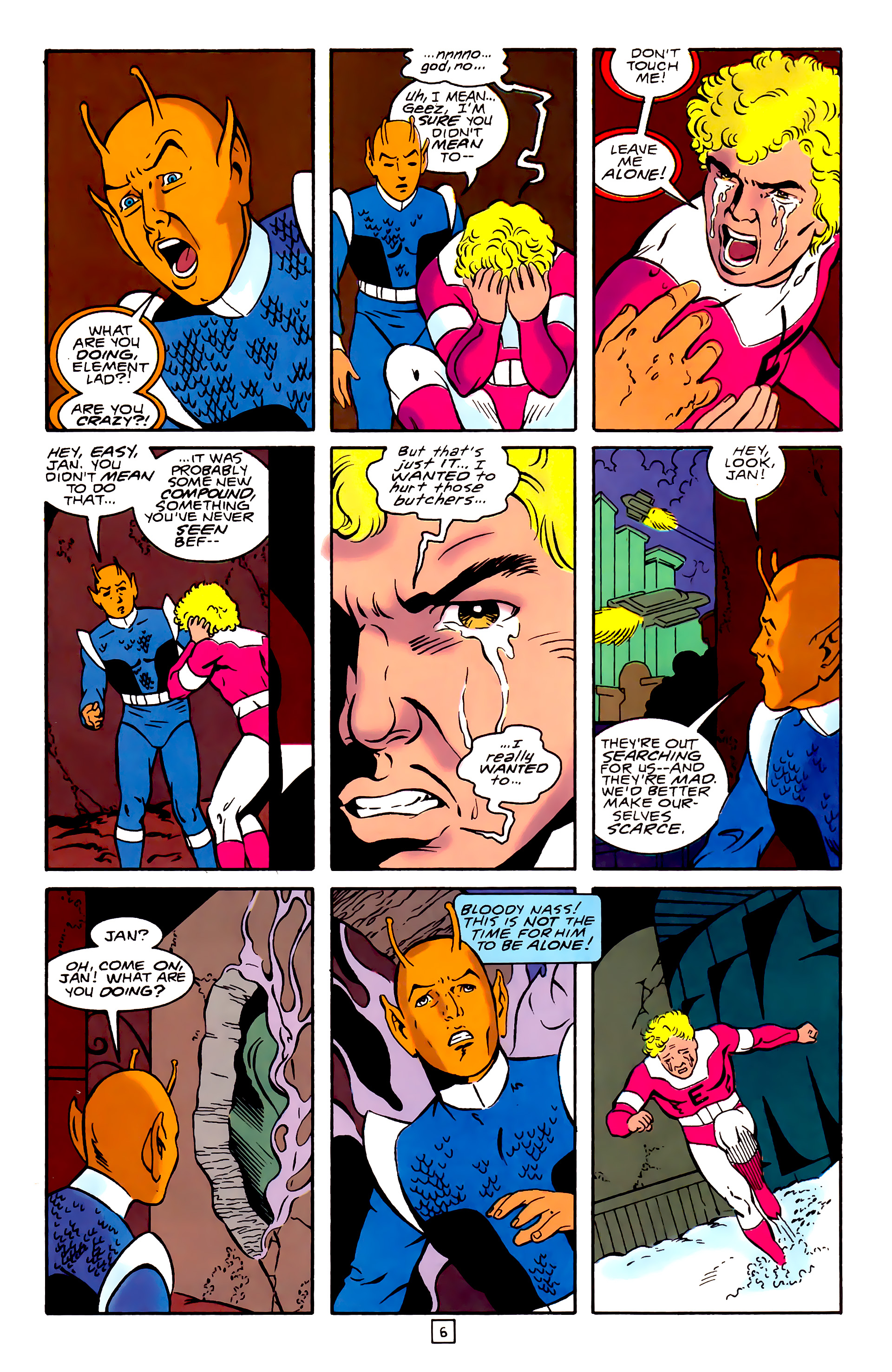 Legion of Super-Heroes (1989) 31 Page 6