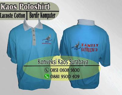 order kaos promosi bordir surabaya, order online kaos promosi murah surabaya